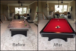 expert pool table recovering in Fort Myers content img3