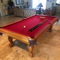 Leisure Bay Slate Pool Table 8ft