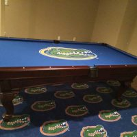 Florida Gators Pool Table