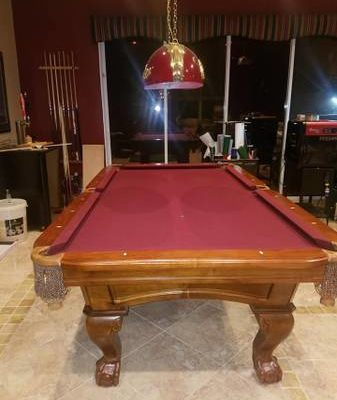 8 ft Craft Master Pool Table